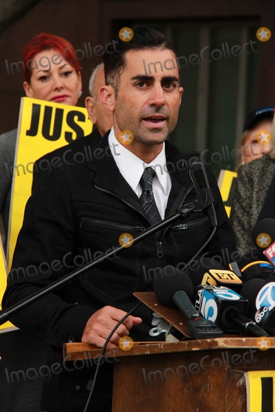 Mike Kasem Photo - Mike Kasemat Casey Kasems Family Press Conference Stanley Mosk Courthouse Los Angeles CA 01-30-15