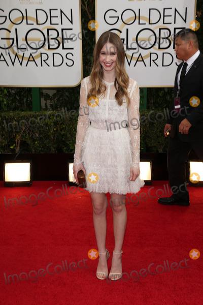 Taissa Farmiga Photo - Taissa Farmigaat the 71st Annual Golden Globe Awards Arrivals Beverly Hilton Hotel Beverly Hills CA 01-12-14