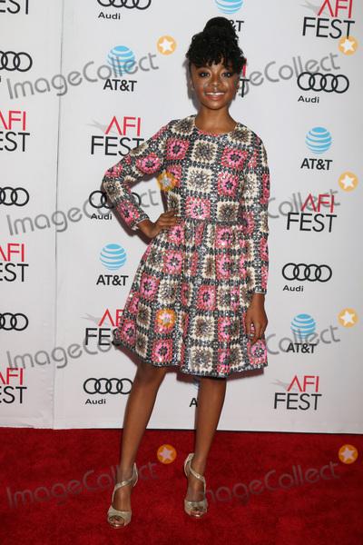 Skai Jackson Photo - Skai Jacksonat the LA LA Land Screening at AFI Fest TCL Chinese Theater IMAX Hollywood CA 11-15-16