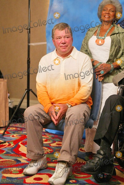 William Shatner Photo - William Shatner and Nichelle Nichols at the Beam Me Up Scotty One Last Time The James Doohan Farewell Star Trek Convention and Tribute at the Renaissance Hollywood Hotel Hollywood CA 08-29-04