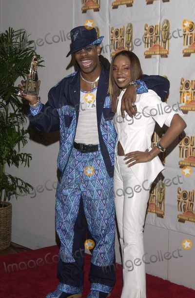 Train Photo -  Busta Rhymes at the 14th Annual Soul Train Music Awards Los Angeles 03-04-00