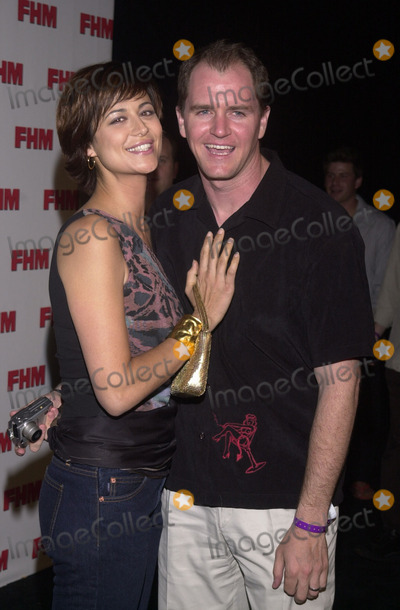 Adam Beason Photo -  Catherine Bell and Adam Beason at the FHM Magazines 100 Sexiest Women in the World Celebration Le Boheme West Hollywood 05-17-01
