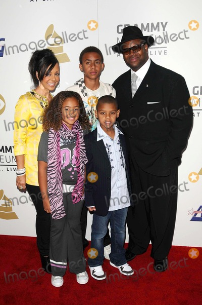 Jimmy Jam Photo - Jimmy Jam and family  at The Grammy Nominations Concert Live Nokia Theatre Los Angeles CA 12-03-08
