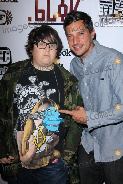 Andy Milonakis Photo - Andy Milonakis Simon Rexat the Opening Night Of Million Dollar Quartet Pantages Hollywood CA 06-19-12