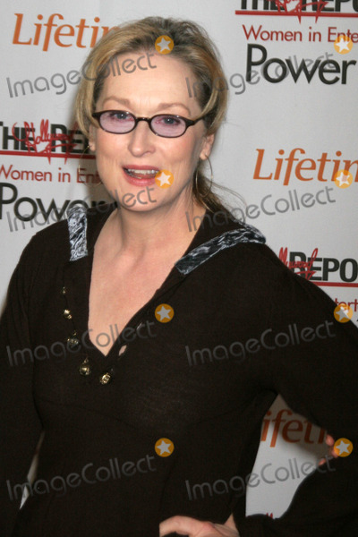 Meryl Streep Photo - Meryl Streepat the 15th Annual The Hollywood Reporters 2006 Women In Entertainment Power 100 Beverly Hills Hotel Beverly Hills CA 12-05-06