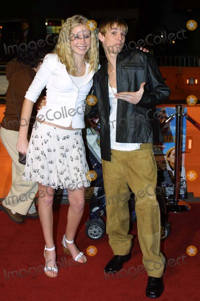 Alana Austin Photo - Aaron Carter and Alana Austin at the premiere of TAG Entertainments Moto X Kids Premiere at the Universal City Walk Universal City CA 01-29-04