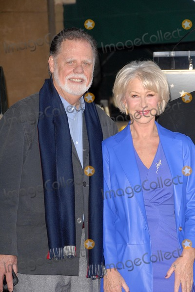 Taylor Hackford Photo - Helen Mirren and Taylor Hackfordat Helen Mirrens induction ceremony into the Hollywood Walk of Fame Hollywood CA 01-03-13