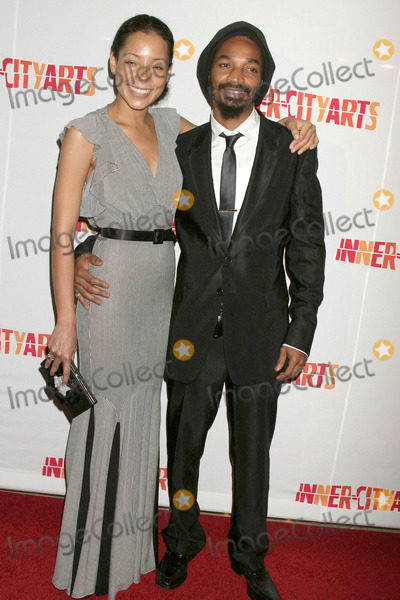 Eddie Steeples Photo - Paola Menacho and Eddie Steeplesat the 20th Anniversary Inner City Arts Imagine Gala and Auction Beverly Hilton Hotel Beverly Hills CA 10-15-09