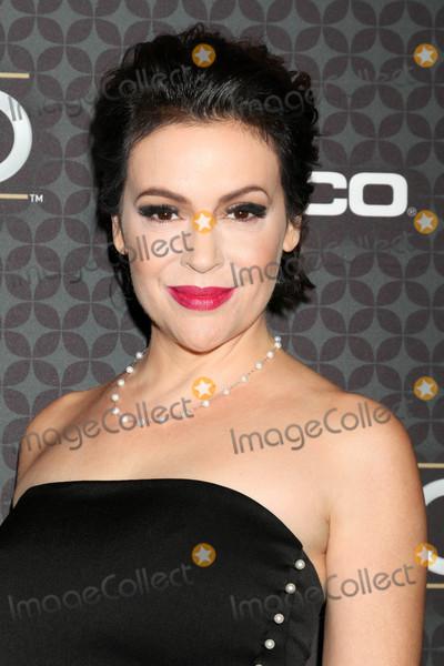 Alyssa Milano Photo - Alyssa Milanoat the The NHL100 Gala Microsoft Theater Los Angeles CA 01-27-17