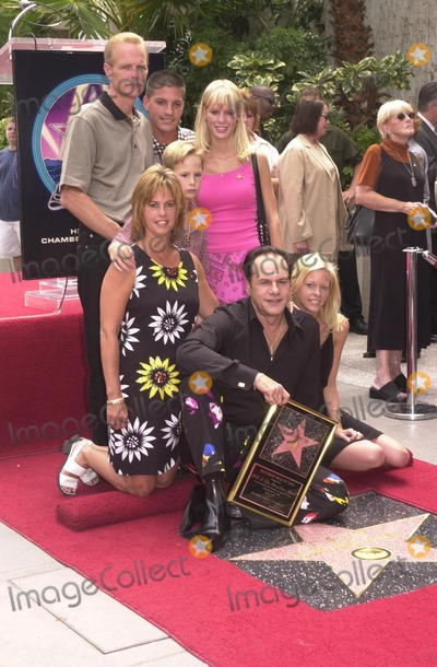 KC and the Sunshine Band Photo - Karry Wayne KC Casey and Famliy at KC and The Sunshine Band induction ceremony into Hollywoods Walk of Fame Hollywood Blvd CA 08-02-02