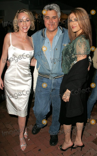 Anne Marie Mogg Photo - Anne-Marie Mogg with Jay Leno and Jenny McShaneat a party before a Katrina Wilma and Rita Hurricane relief Auction benefitting Save the Children Automotive Legends Malibu CA 11-11-05