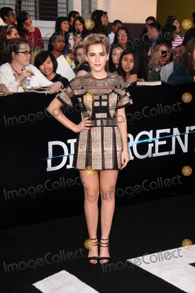 Kiernan Shipka Photo - Kiernan Shipkaat the Divergent Los Angeles Premiere Regency Bruin Theatre Westwood CA 03-18-14
