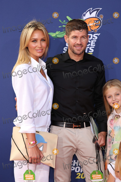 Alex Curran Photo - Steven Gerrard Alex Curranat the Nickelodeon Kids Choice Sports Awards 2015 UCLAs Pauley Pavilion Westwood CA 07-16-15