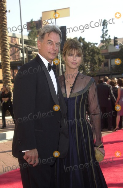 Pam Dawber Picture - Mark Harmon and Pam Dawber at the 2002 Creative