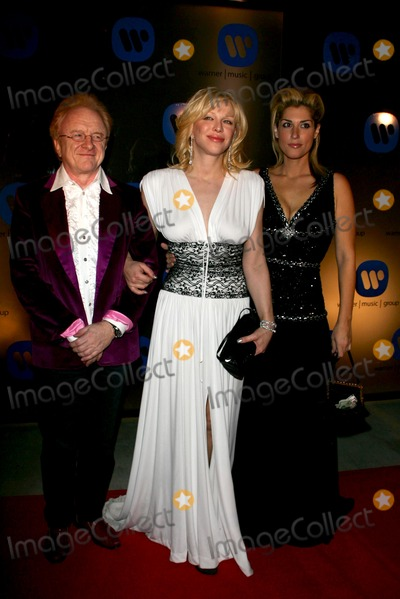 Courtney Love Photo - Peter Allen with Courtney Love and Lisa Leverageat the Warner Music Group 2006 Grammy After Party Pacific Design Center West Hollywood CA 02-08-06