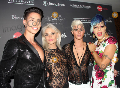 Ava Capra Photo - Justin Jedlica Ava Capra Brandon Bailey Sham Ibrahimat the Ava Capra 21st Birthday Party Sponsored by Andrew S Warren Real Estate Group and Photomundo International Entertainment Private Location Beverly Hills CA 08-30-16