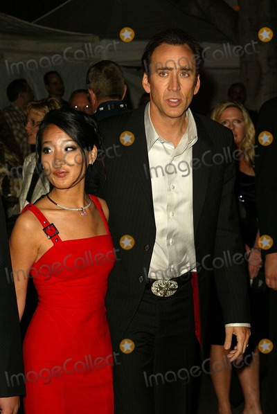 Alice Cage Photo - Nicolas Cage and wife Alice Cage at the world premiere of Disneys National Treasure at the Pasadena Civic Auditorium Pasadena CA 11-08-04
