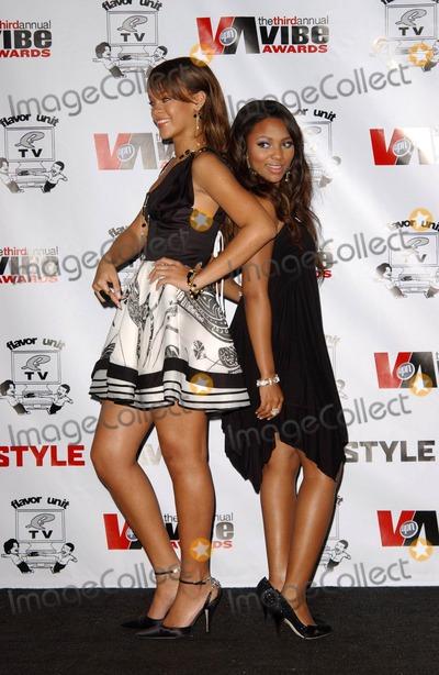 Teairra Marie Photo - Rihanna and Teairra Mariin the press room at the 3rd Annual Vibe Awards Sony Studios Culver City CA 11-12-05