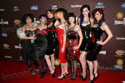 Suicide Girls Photo - Suicide Girls at Spike Tvs Scream 2008 Greek Theatre Hollywood CA 10-18-08
