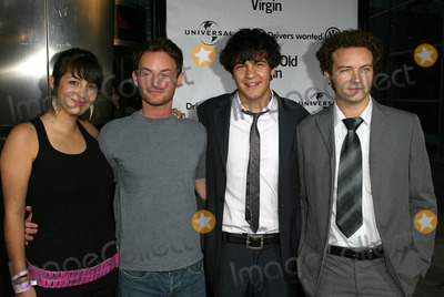 Alana Masterson Photo - Alana Masterson Chris Masterson Jordan Masterson and Danny MastersonAlana Masterson Chris Masterson Jordan Masterson and Danny Masterson at the World Premiere of the 40 Year-Old Virgin Arclight Hollywood Hollywood CA 08-11-05