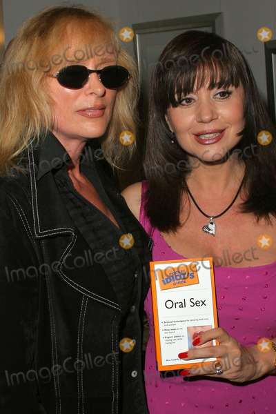 Ava Cadell Photo - Sybil Danning and Dr Ava Cadell at Dr Ava Cadells Book Release Party for The Pocket Idiots Guide to Oral Sex Erotic Museum Hollywood CA 01-25-05