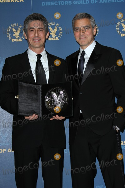 Alexander Georges Photo - Alexander Payne George Clooneyat the 64th Annual Directors Guild Of America Awards Pressroom Hollywood  Highland Hollywood CA 01-28-12