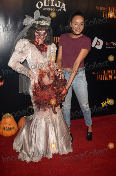 Ashley Madekwe Photo - Ashley Madekweat the Los Angeles Haunted Hayride 8th Annual VIP Black Carpet Event Griffith Park Los Angeles CA 10-09-16