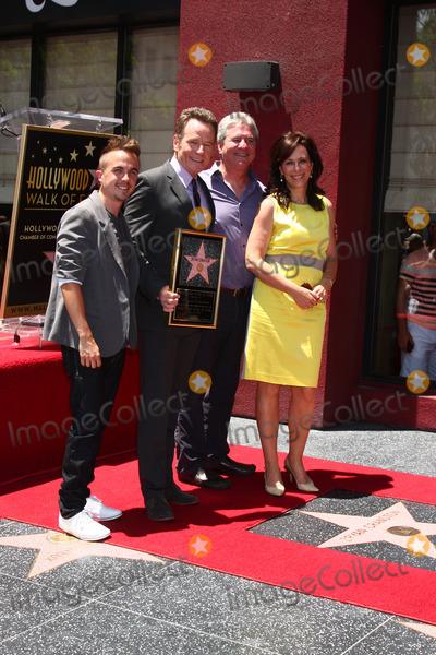 Frankie Muniz Photo - LOS ANGELES - JUL 16  Frankie Muniz Bryan Cranston Producer Jane Kaczmarek at the Hollywood Walk of Fame Star Ceremony for Bryan Cranston at the Redbury Hotel on July 16 2013 in Los Angeles CA