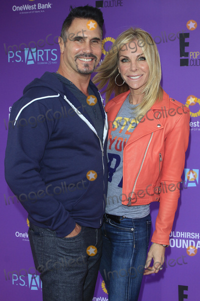 Don Diamont Photo - LOS ANGELES - NOV 15  Don Diamont Cindy Ambuehl at the Express Yourself 2015 presented by PS ARTS at the Barker Hanger on November 15 2015 in Santa Monica CA