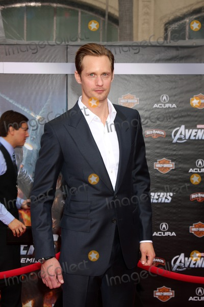 Alexander Skarsgrd Photo - LOS ANGELES - APR 11  Alexander Skarsgrd arrives at The Avengers Premiere at El Capitan Theater on April 11 2012 in Los Angeles CA