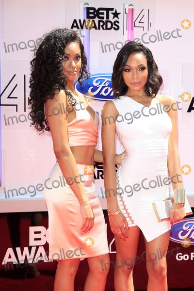 Bria Murphy Photo - LOS ANGELES - JUN 29  Bria Murphy Shayne Murphy at the 2014 BET Awards - Arrivals at the Nokia Theater at LA Live on June 29 2014 in Los Angeles CA