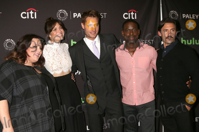 Justin Hartley Photo - LOS ANGELES - SEP 13  Chrissy Metz Mandy Moore Justin Hartley Sterling K Brown Milo Ventimiglia at the PaleyFest 2016 Fall TV Preview - NBC at the Paley Center For Media on September 13 2016 in Beverly Hills CA