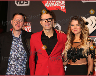 Amy Brown Photo - LOS ANGELES - MAR 5  Lunchbox Bobby Bones Amy Brown at the 2017 iHeart Music Awards at Forum on March 5 2017 in Los Angeles CA