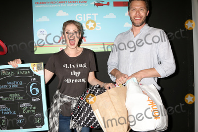 Ashley Jones Photo - LOS ANGELES - SEP 24  Ashley Jones Joel Henricks at the 5th Annual Red Carpet Safety Awareness Event at the Sony Picture Studios on September 24 2016 in Culver City CA