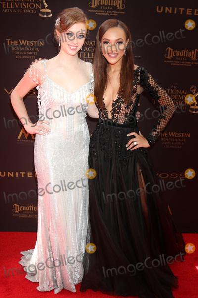 Ashlyn Pearce Photo - LOS ANGELES - MAY 1  Ashlyn Pearce Reign Edwards at the 43rd Daytime Emmy Awards at the Westin Bonaventure Hotel  on May 1 2016 in Los Angeles CA