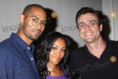 Daniel Goddard Photo - LOS ANGELES - AUG 24  Lamon Archey Mishael Morgan Daniel Goddard at the Young  Restless Fan Club Dinner at the Universal Sheraton Hotel on August 24 2013 in Los Angeles CA