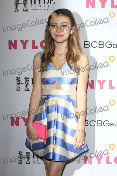 G Hannelius Photo - LOS ANGELES - MAY 12  G Hannelius at the NYLON Young Hollywood May Issue Event at HYDE Sunset on May 12 2016 in Los Angeles CA