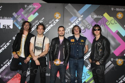 Albert Hammond Jr Photo - LOS ANGELES - APR 20  Musicians Nick Valensi Albert Hammond Jr Fabrizio Moretti Nikolai Fraiture and Julian Casablancas of The Strokes arriving at the Launch Of The New T-Mobile Sidekick 4G  at Old RobinsonMay Building on April 20 2011 in Beverly Hills CA