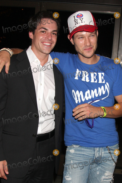 Michael Graziadei Photo - David Lago  Michael Graziadei at The Young  the Restless Fan Club Dinner  at the Sheraton Universal Hotel in  Los Angeles CA on August 28 2009
