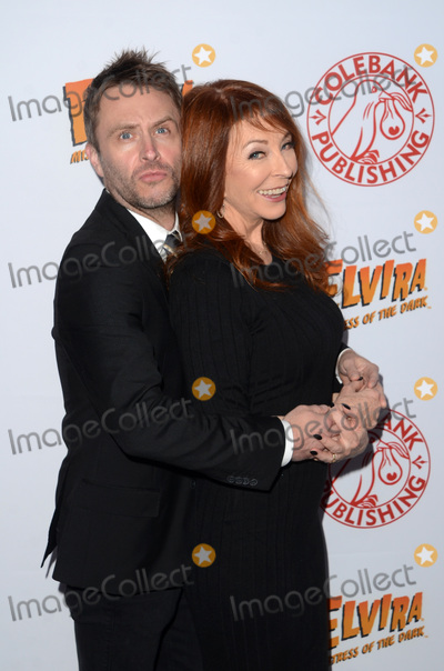 Cassandra Peterson Photo - LOS ANGELES - OCT 17  Chris Hardwick Cassandra Peterson at the Elvira Mistress Of The Dark Coffin Table Book Launch at Roosevelt Hotel on October 17 2016 in Los Angeles CA