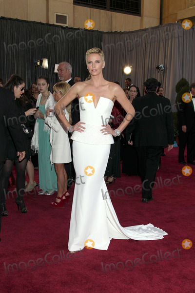 Charlize Theron Photo - LOS ANGELES - FEB 24  Charlize Theron arrives at the 85th Academy Awards presenting the Oscars at the Dolby Theater on February 24 2013 in Los Angeles CA