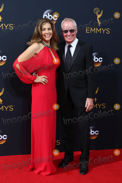 Bertram van Munster Photo - LOS ANGELES - SEP 18  Elise Doganieri Bertram van Munster at the 2016 Primetime Emmy Awards - Arrivals at the Microsoft Theater on September 18 2016 in Los Angeles CA