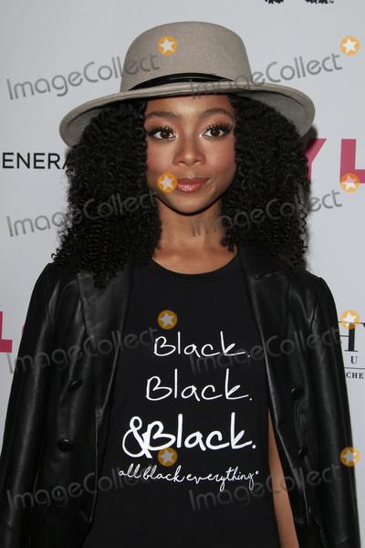 Skai Jackson Photo - LOS ANGELES - MAY 12  Skai Jackson at the NYLON Young Hollywood May Issue Event at HYDE Sunset on May 12 2016 in Los Angeles CA