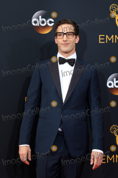 Andy Samberg Photo - LOS ANGELES - SEP 18  Andy Samberg at the 2016 Primetime Emmy Awards - Arrivals at the Microsoft Theater on September 18 2016 in Los Angeles CA