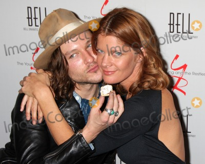 Michael Graziadei Photo - LOS ANGELES - MAR 16  Michael Graziadei Michelle Stafford arrives at the Young  Restless 39th Anniversary Party hosted by the Bell Family at the Palihouse on March 16 2012 in West Hollywood CA