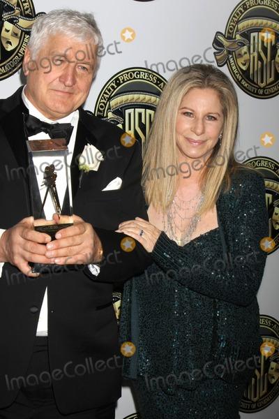 Andrzej Bartkowiak Photo - LOS ANGELES - FEB 15  Andrzej Bartkowiak Barbra Streisand at the 2015 American Society of Cinematographers Awards at a Century Plaza Hotel on February 15 2015 in Century City CA
