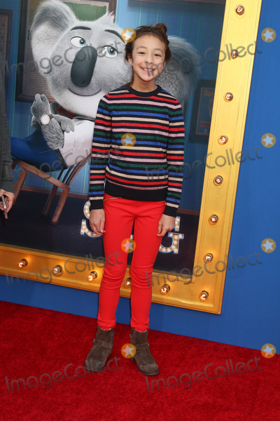 Aubrey Anderson-Emmons Photo - LOS ANGELES - DEC 3  Aubrey Anderson-Emmons at the Sing Premiere at Microsoft Theater on December 3 2016 in Los Angeles CA