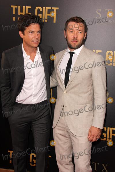 Joel Edgerton Photo - LOS ANGELES - JUL 30  Jason Bateman Joel Edgerton at the The Gift World Premiere at the Regal Cinemas on July 30 2015 in Los Angeles CA