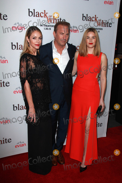 Lily Costner Photo - LOS ANGELES - JAN 20  Christine Baumgartner Kevin Costner Lily Costner at the Black Or White Los Angeles Premiere at a Regal Cinemas on January 20 2015 in Los Angeles CA