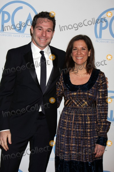 Adam Schlesinger Photo - LOS ANGELES - JAN 22  Adam Schlesinger Linda Saffire arrives at the 22nd Annual Producers Guild Awards at Beverly Hilton Hotel on January 22 2011 in Beverly HIlls CA